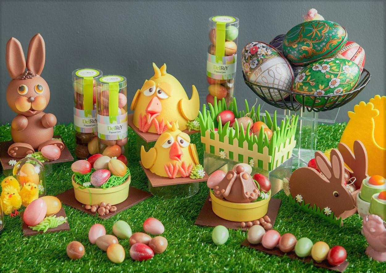 イースターエッグチョコレートの発売を開始いたします