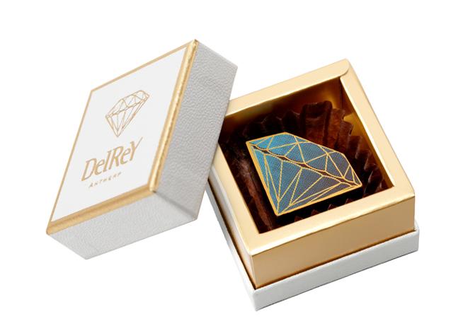 ダイヤモンドショコラ1個入BOX