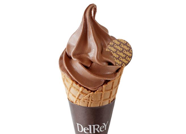 ソフトクリーム チョコレート